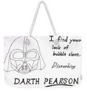 Darth Pearson Weekender Tote Bag