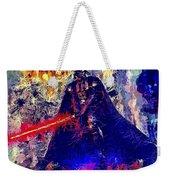 Darth Vader Weekender Tote Bag by Al Matra