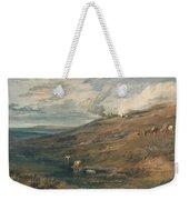 Dartmoor The Source Of The Tamar And The Torridge Weekender Tote Bag