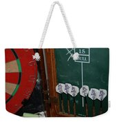Darts And Board Weekender Tote Bag