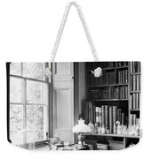 Darwins Study And Microscope, Down House Weekender Tote Bag