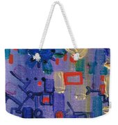 Dashpotted Dilemma Weekender Tote Bag