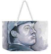 Data As Sherlock Holmes Weekender Tote Bag