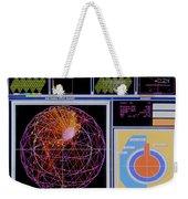 Data Capture, Sudbury Neutrino Weekender Tote Bag