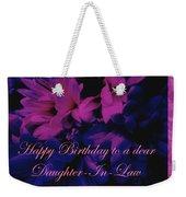 Daughter-in-law Birthday Card        Chrysanthemum Weekender Tote Bag
