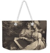 Daughters Of Sir Thomas Frankland Bart (the Sisters) Weekender Tote Bag