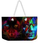David Bowie - Cat People  Weekender Tote Bag