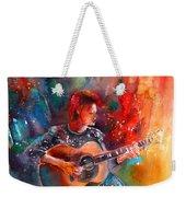 David Bowie In Space Oddity Weekender Tote Bag