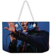 David Bowie Live Painting Weekender Tote Bag