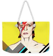 David Bowie Pop Art Weekender Tote Bag
