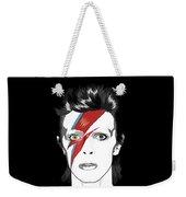 David Bowie Quote Weekender Tote Bag