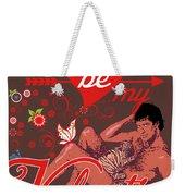 David Hasselhoff Valentine' Day Weekender Tote Bag