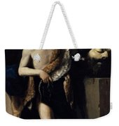 David With The Head Of Goliath 1606 Weekender Tote Bag