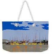 Davis Island Yachts Weekender Tote Bag