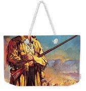 Davy Crockett  Hero Of The Alamo Weekender Tote Bag