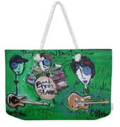 Davy Knowles And Back Door Slam Weekender Tote Bag by Laurie Maves ART