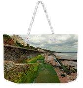 Dawlish Sea Wall Weekender Tote Bag