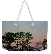 Dawn And Moon Setting - Virginia Weekender Tote Bag