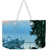 Dawn At Bay Colony Weekender Tote Bag