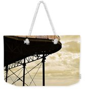 Dawn At Colwyn Bay Victoria Pier Conwy North Wales Uk  Weekender Tote Bag