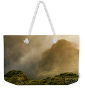 Dawn At Fogo Crater Weekender Tote Bag