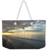 Dawn At Folly Beach Weekender Tote Bag