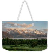 Dawn At Grand Teton National Park Weekender Tote Bag