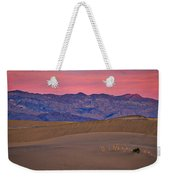 Dawn At Mesquite Flat #3 - Death Valley Weekender Tote Bag
