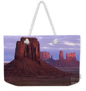 Dawn At Monument Valley Weekender Tote Bag