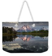 Dawn At Oxbow Bend Weekender Tote Bag