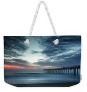 Dawn Breaking Through Weekender Tote Bag