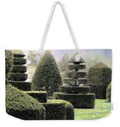 Dawn In A Topiary Garden   Weekender Tote Bag
