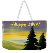 Dawn Is Breaking On 2019 Weekender Tote Bag