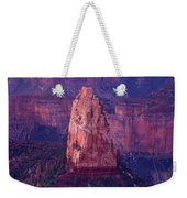 Dawn Mount Hayden Point Imperial North Rim Grand Canyon National Park Arizona Weekender Tote Bag by Dave Welling