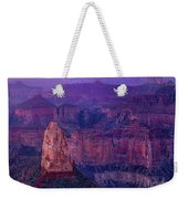 Dawn Mount Hayden Sunrise North Rim Grand Canyon Arizona Weekender Tote Bag by Dave Welling