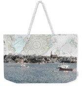 Dawn On Marblehead Harbor Weekender Tote Bag
