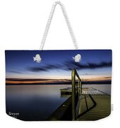 Dawn On Skaneateles Lake Weekender Tote Bag