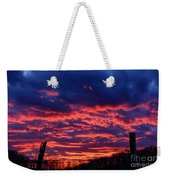 Dawn On The Farm Weekender Tote Bag