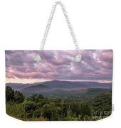 Dawn On The Foothills Parkway Weekender Tote Bag by Jemmy Archer