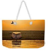 Dawn On The Ganga Weekender Tote Bag