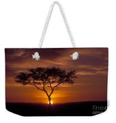 Dawn On The Masai Mara Weekender Tote Bag