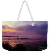 Dawn On The Mississippi Weekender Tote Bag