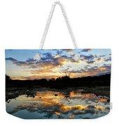 Dawn Over Boerne Creek Weekender Tote Bag