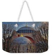Dawn Over Hagia Sophia Weekender Tote Bag