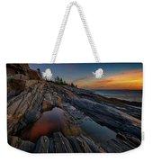 Dawn Over Pemaquid Point Weekender Tote Bag