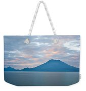 Dawn Over The Volcano 4 Weekender Tote Bag