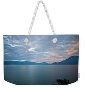 Dawn Over The Volcano 5 Weekender Tote Bag