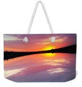 Dawn Sky And Water Weekender Tote Bag