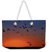 Dawns Action Weekender Tote Bag