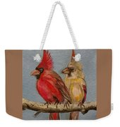 Dawn's Cardinals Weekender Tote Bag